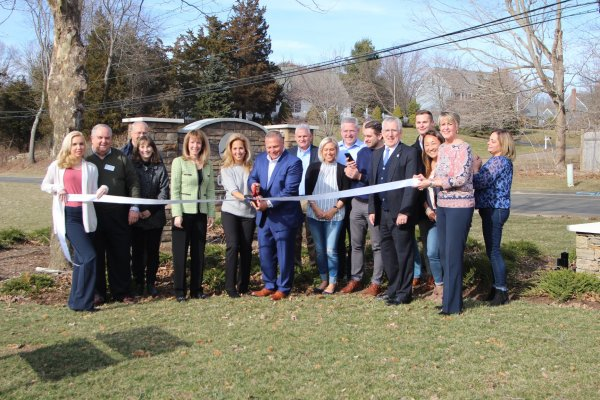 Ribbon Cutting 350 Goose Lane
