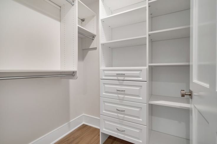 vertical storage space