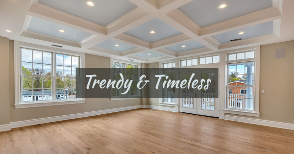 trendy and timeless home design